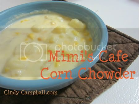 Mimi&#039;s Cafe Corn Chowder