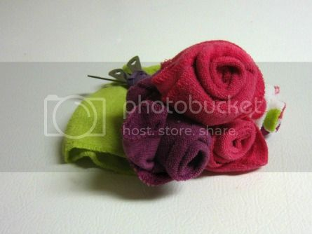 Baby Wash Cloth Bouquet